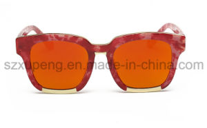 Newest Style Korean Deign Solid Vintage Sunglasses for Lady