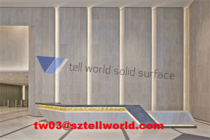 Hotel Reception Desk, Hot Sale Half Round Reception Desk pictures & photos