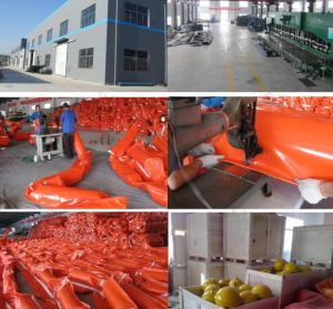 Environment Oil Protection Oil Float PVC/Rubber Boom pictures & photos