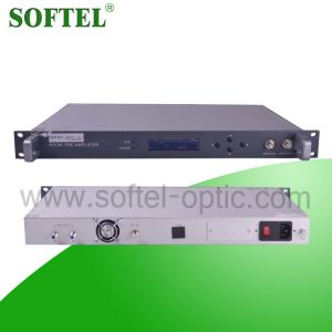 1550nm FTTX Pon Optical 18dBm Erbium-Doped Fiber Amplifier (EDFA) with LCD Display, FC/APC or Sc/APC Connector pictures & photos
