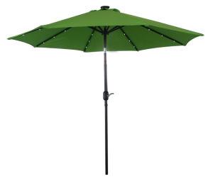 9ft (2.7m) Patio Umbrella Solar Umbrella Garden Umbrella Outdoor Umbrella Parasol LED Light Umbrella pictures & photos