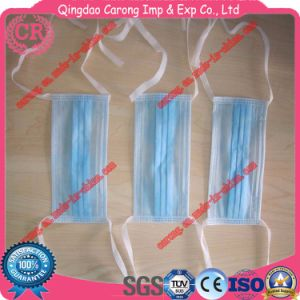 Nonwoven Disposable 3 Ply Face Mask Tie on pictures & photos