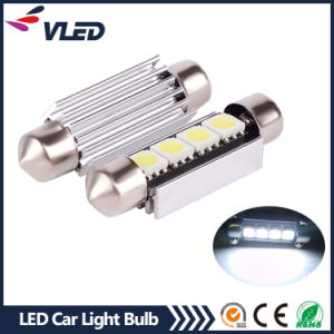 41mm 4 LED 5050 Car Festoon Interior Car Light pictures & photos