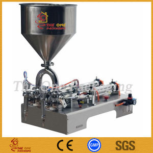 Double Heads Ointment Filling Machine pictures & photos