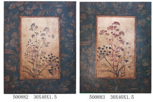 Wholesale Classic Painting for China Home Decor (LH-500882/500883) pictures & photos