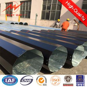 Circular Section Electric Power Steel Pipe pictures & photos