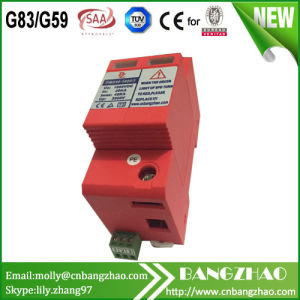 Solar System Direct Current 20ka Double Phases Surge Protector Devices 800V DC SPD pictures & photos