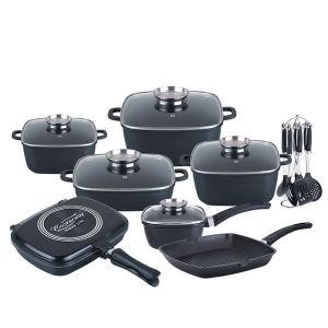 German Die Casting Aluminum Cookware Set pictures & photos