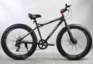 "26""*4.0 Fat Tire Mountain Bike Snow Bicycle (FP-MTB-FAT06) pictures & photos"