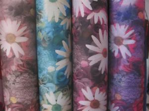 Chrysanthemums Printed Fabric for Bag /Tent/Cabinet Cloth