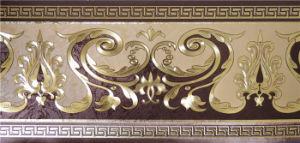 Gold Foil Wallpaper Border (13.5cm*5m) pictures & photos