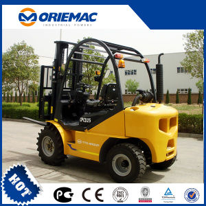 Chinese Brand Yto 3.0ton Rough Terrain Forklift Cpcd30 pictures & photos