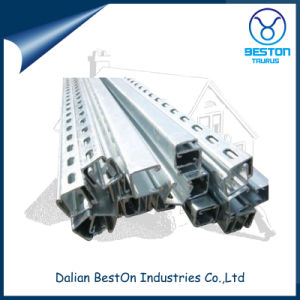 Hot DIP Glavanized Steel Slotted Strut Channel with CE, UL pictures & photos