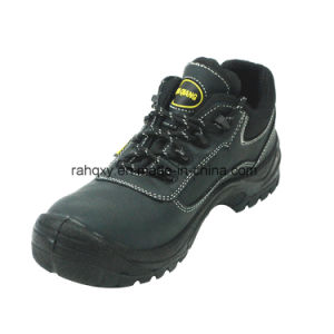Low-Cut Nubuck Safety Shoe with PU+TPU Outsole (HQ03030) pictures & photos