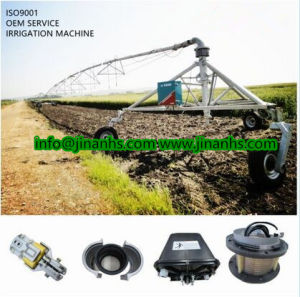 Modern Farm Movable Center Pivot Irrigation System for Sale with ISO Certificate pictures & photos
