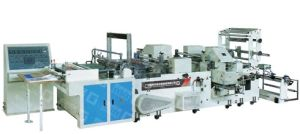 CE and ISO9001 Certification T-Shirt Plastic Bag Making Machine pictures & photos