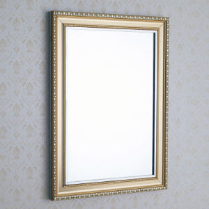 Bathroom Stainless Steel Frame Mirror for Hotel Decoration (ART6840)