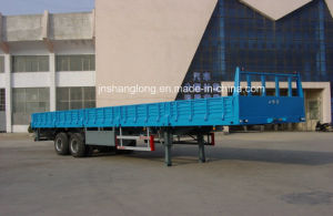 Two Axle Container or Cargo Semi-Trailer pictures & photos