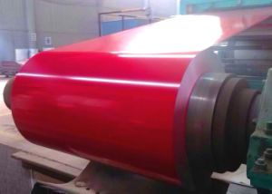 PPGI Steel Coil Red Color in Stock
