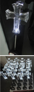 Solar Cross Stick Light with 1 White LED pictures & photos