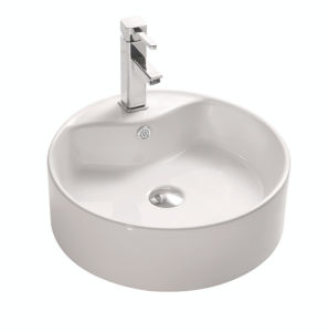 Round Ceramic Sanitary Ware Art Basin pictures & photos