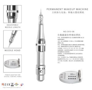 Digital Permanent Makeup Eyebrow Tattoo Machine Zx13-08 pictures & photos