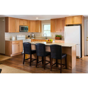 2016 Hot Sales Customized American Solid Wood Kitchen Cabinet America Solid Wood Kitchen Unit Free Design for You pictures & photos