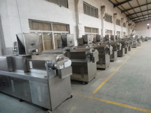 Automatic Frying Sala Extruded Bugle Chips Machine pictures & photos