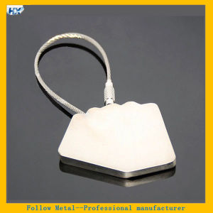 Promotional Spades Playing Cards Shaped Steel Wire Metal Playing Cards Keyring pictures & photos