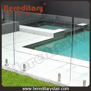 Frameless Fence for Swimming Pool (SJ-3211)