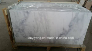 China Calacatta White Marble Tile for Flooring, Walling pictures & photos