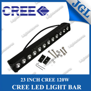 "New 23"" Single Row CREE LED Driving Light Bar, 120W LED Work Lamp, Truck Work Light Bar, Offroad Bar Light LED, Waterproof Lighting Bar 12V/24V pictures & photos"