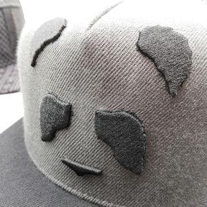 OEM Factory 100% Cotton Mesh New Flat Brim Era Snapback Trucker Cap pictures & photos