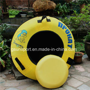 Adult and Children Winter Sport Toy Inflatable Snow Ski Sled Snow Tube
