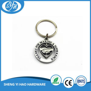 Fashion Design High Quality Enamel Keychain with Epoxy pictures & photos