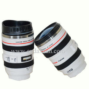 Stainless Steel Camera Mug with Plastic Lid Dn-045b pictures & photos