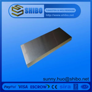 Pure Tungsten Sheet/Tungsten Plate for Vacuum Furnace pictures & photos