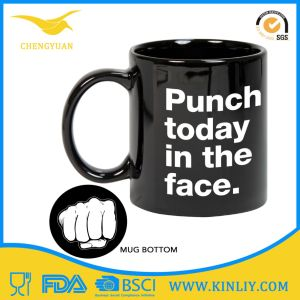 Ceramic Tea Cup Coffee Mug with Funny Grenade Design pictures & photos