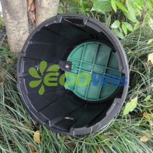 Irrigation Sprinkler Valve Box with Green Lid pictures & photos