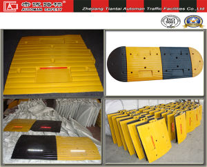 500*500*50mm Industrial Rubber Traffic Speed Safety Humps (CC-B09) pictures & photos