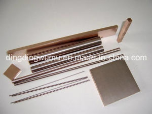 Tungsten Copper Bar Electrode for EDM pictures & photos