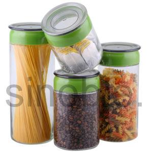 Glass Jar / Glass Bottle / Glass Canister / Glass Storage Jar Set (KG0111140000)