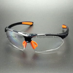 ANSI Z87.1 Mirror Lens Sporty Type Safety Glasses (SG115) pictures & photos