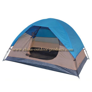 2persons 190t Polyester Outdoor Camping Tent (ETA01202) pictures & photos
