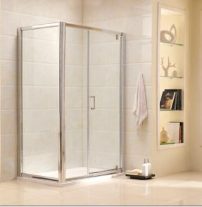 Competitive Simple Tempered Glass Shower Enclosure with AS/NZS2208 Certificate (P21) pictures & photos