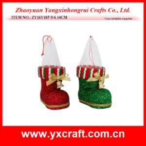 Christmas Decoration (ZY16Y107-5-6 14CM) Christmas Boot Product pictures & photos