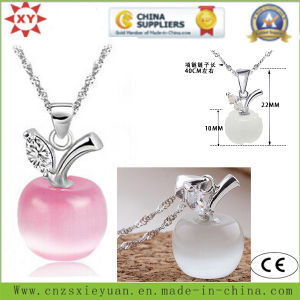 Fahion Jewelry 925 Sliver Necklace with Stone for Promotional Gifts pictures & photos