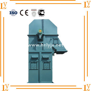 Bucket Elevator with Fire-Proof and Anti-Abrasive Rubber Pulley pictures & photos