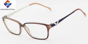 Hot Selling Design Tr90 Eyeglass Optical Frames with Metal Temples pictures & photos