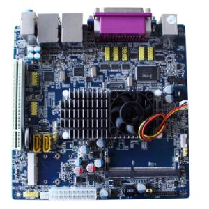 Mini Itx Mother Board with Onboard Intel Atom D525 Dual Core 1.86GHz (PT-M525) pictures & photos